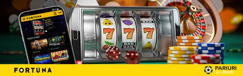 Secțiunea de cazinou
