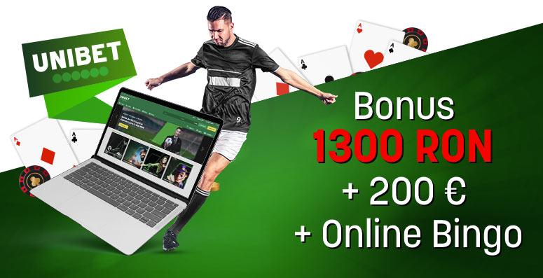 Unibet Pariuri Sportive si Casino