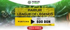 League of Legends pariuri sportive