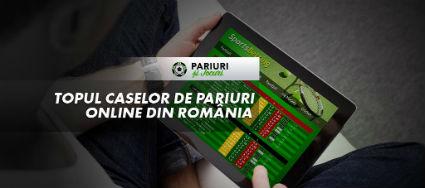 Topul caselor de pariuri online Romania