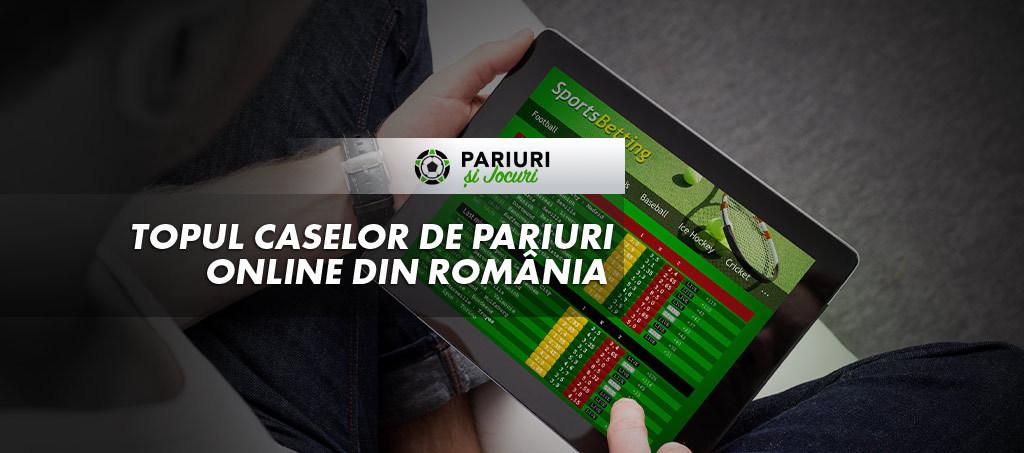 Topul caselor de pariuri online