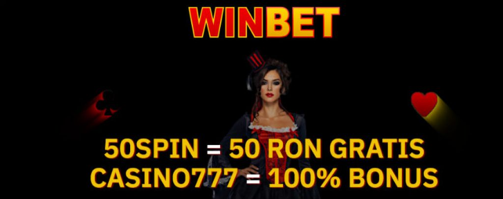 WinBet cazino bonus fara depunere