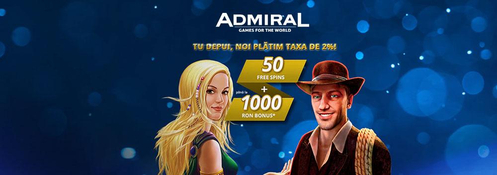 Admiral bonus cazino