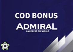 Admiral cod bonus