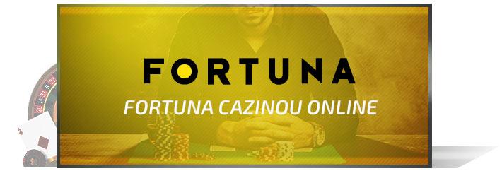 Cazino online Fortuna bonus