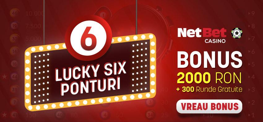 Netbet bonus pentru Lucky Six Ponturi Pariuri