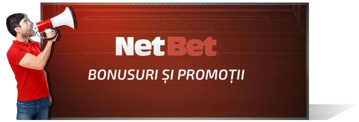 Bonusuri si promotii NetBet