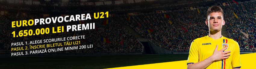 Euro U21 2019 - Cote de Pariuri și Promoții la Fortuna