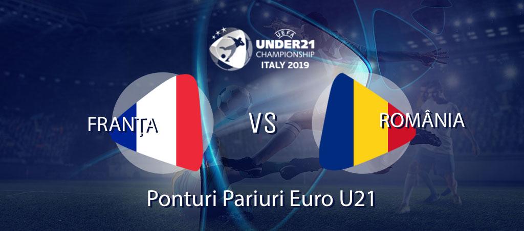 România - Franța Euro U21 pariuri