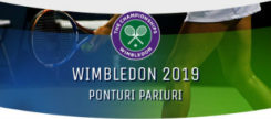 Wimbledon 2019 ponturi pariuri