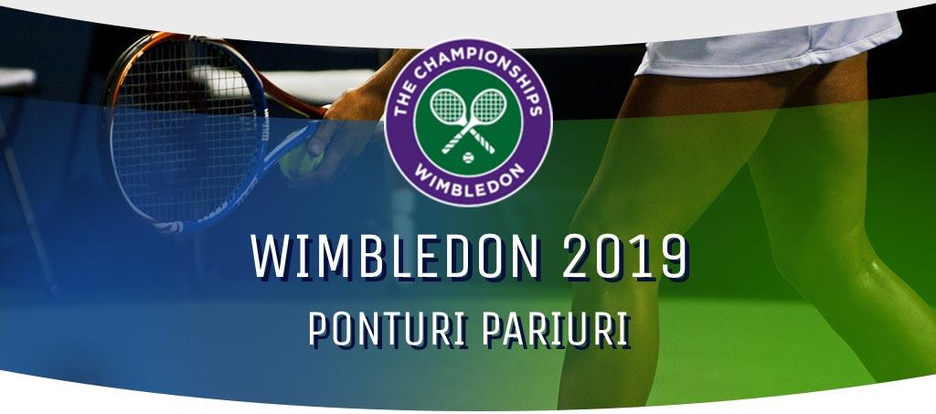 Wimbledon 2019 cote de pariuri