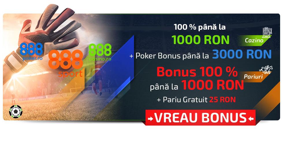 888 Bonus de bun Venit Pariuri Sportive și Cazino