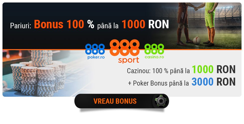 888.ro pariuri sportive, cazinou online si poker online