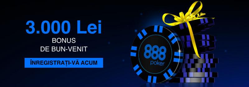 888poker bonus de bun venit