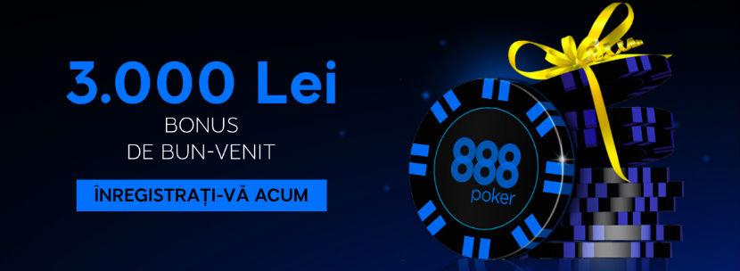 888poker.ro bonus de bun venit