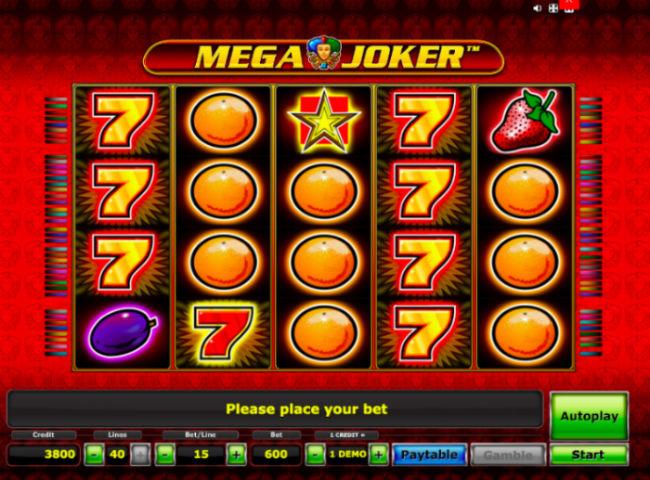 Mega Joker online Gaminator