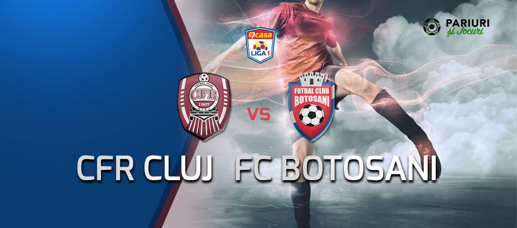 CFR Cluj - FC Botosani ponturi pariuri