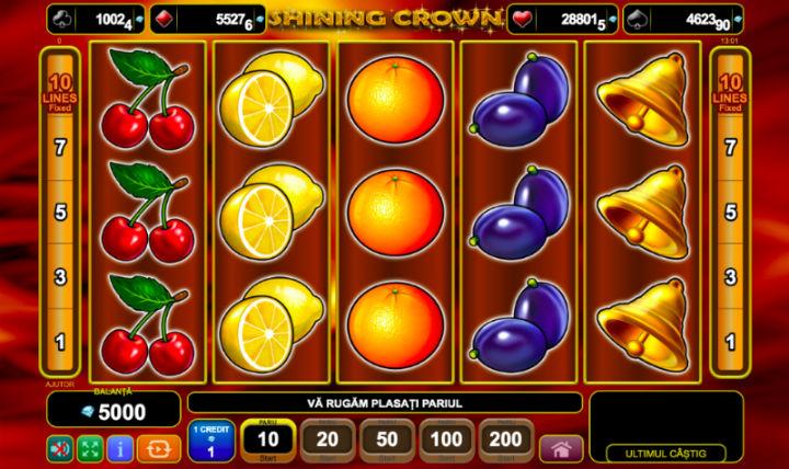 Shining Crown online Romania