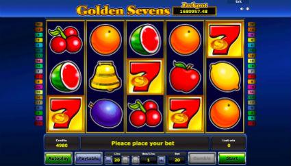 Golden Sevens Online Gratis
