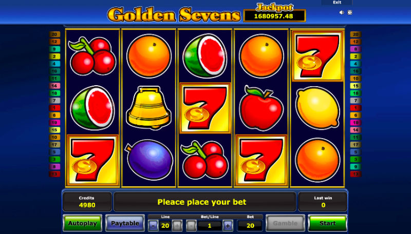 Golden Sevens Joacă Online Gratis