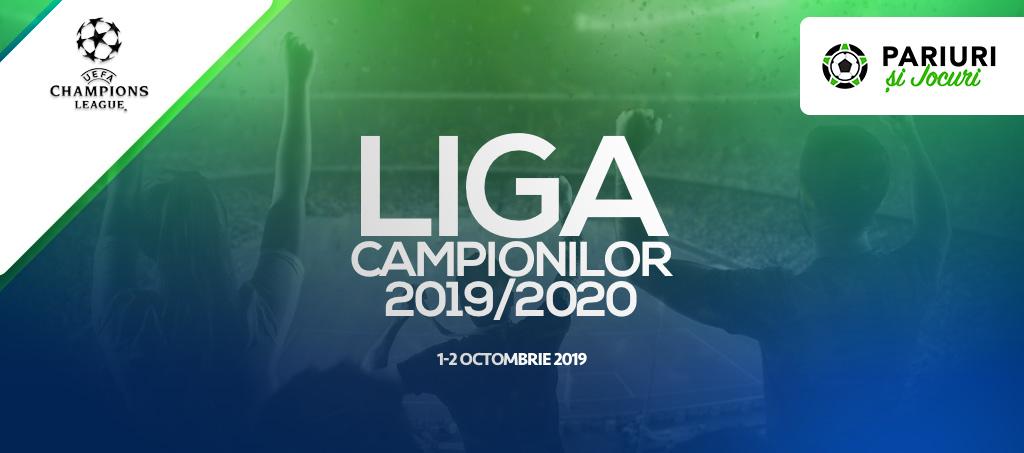 Liga Campionilor 2019/2020 ponturi pariuri