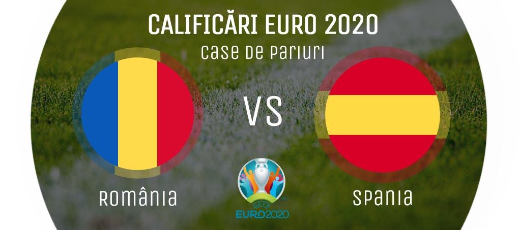 România - Spania în Calificările Campionatului European de Fotbal 2020