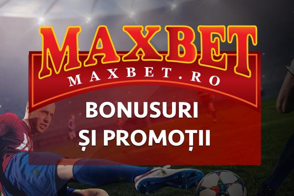 MaxBet Bonusuri și promoții online