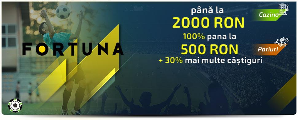 Fortuna bonus promo cod