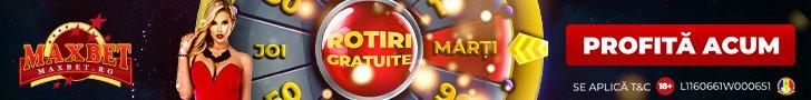 Maxbet cazino cod bonus rotiri gratuite