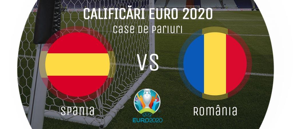Pariuri Spania - România