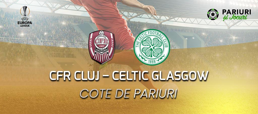 CFR Cluj - Celtic Glasgow 12.12.2019 pariuri