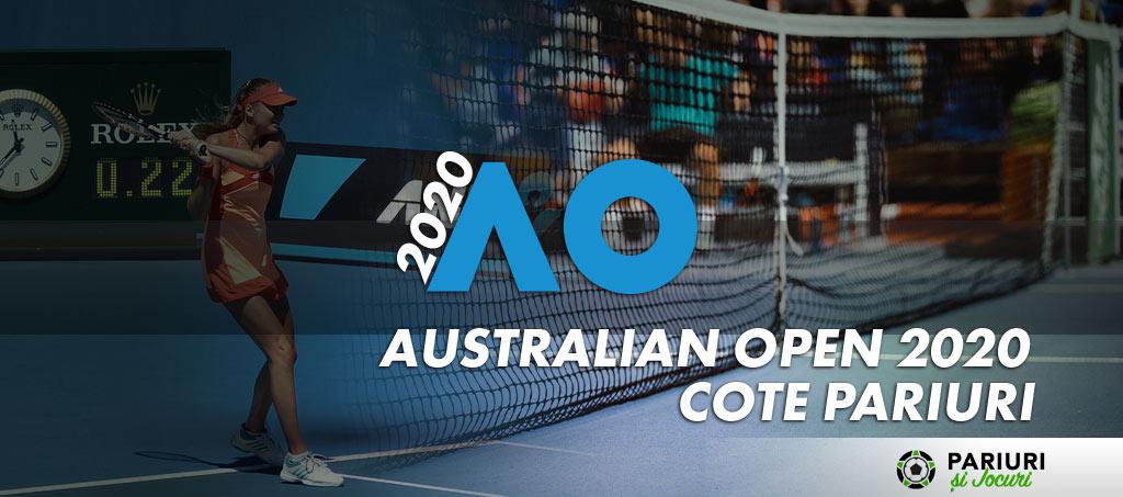 Cote pariuri Australian Open