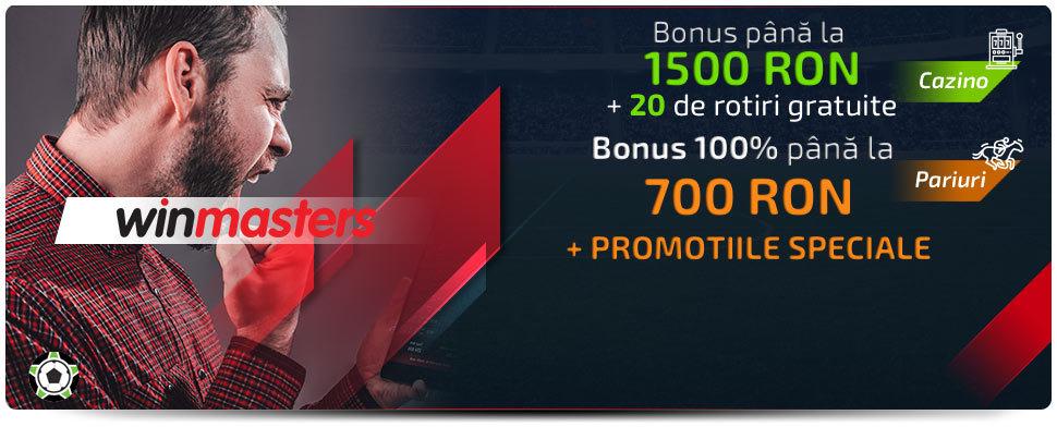 Winmasters bonus cod