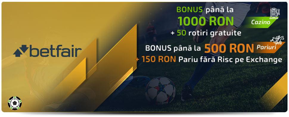 Betfair Bonus de Bun Venit: Iunie 2021