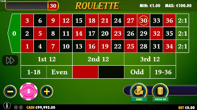 Jocul de ruleta