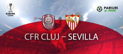 CFR Cluj - Sevilla Europa League