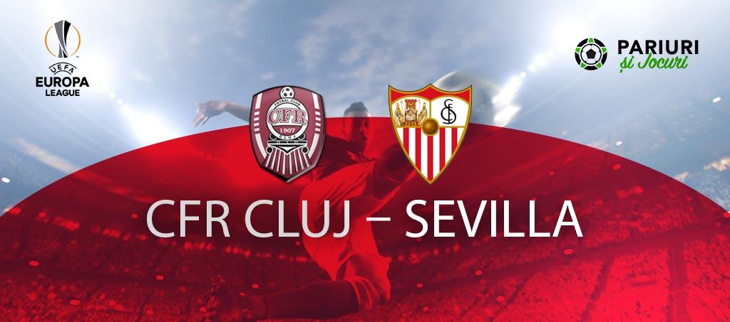 CFR Cluj - Sevilla cote pariuri