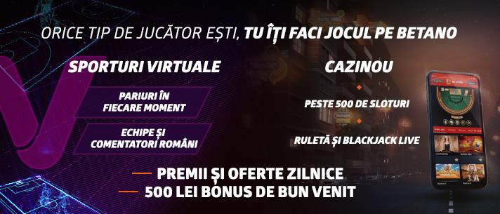 Betano Sporturi Virtuale cazinou