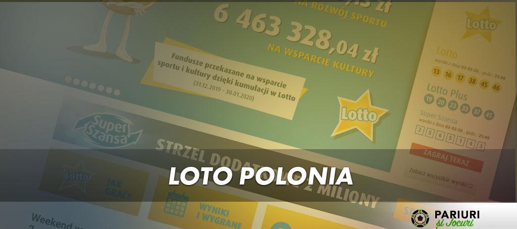 Loto Polonia - populare loterii din România