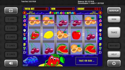 Fruit Cocktail Păcănele