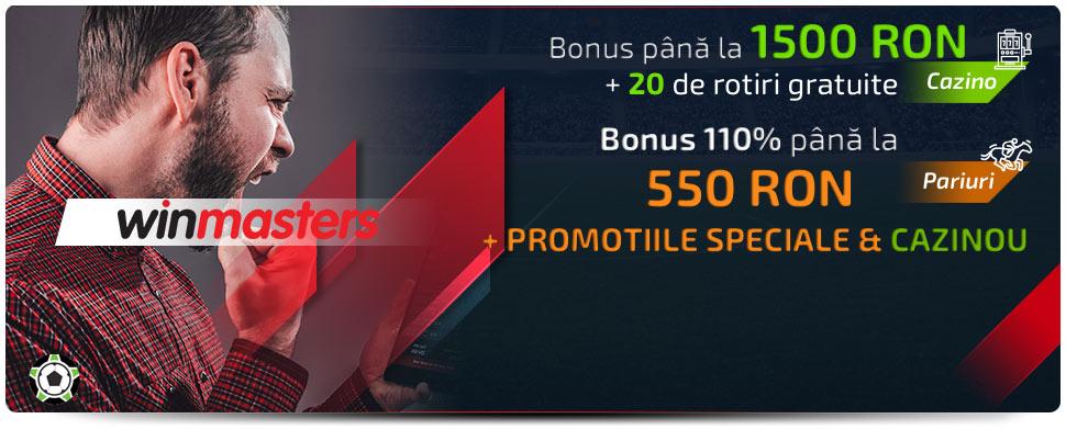 Winmasters Bonus de Bun Venit: Iunie 2021