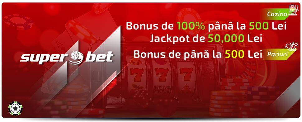 Bonus special la Superbet Casino: Septembrie 2021