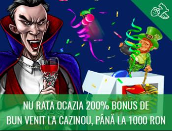 Baumbet Cazino: Bonus de bun venit
