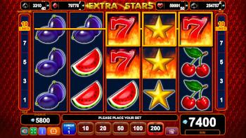 Extra Stars Sloturi câștig mare
