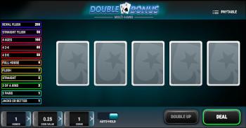 Poker Double Bonus