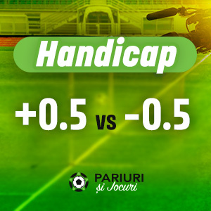 Handicap +0.5 vs -0.5